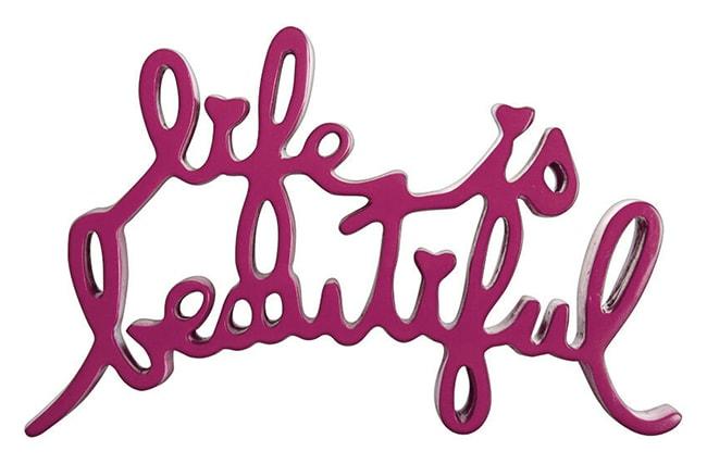 Mr. Brainwash, Life is Beautiful (Pink), 2020