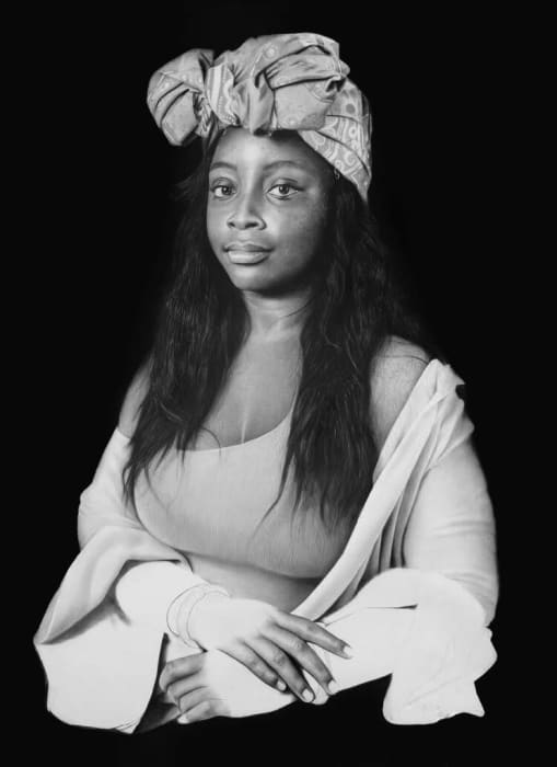 Arinze Stanley, Negro Monalisa (LARGE), 2020