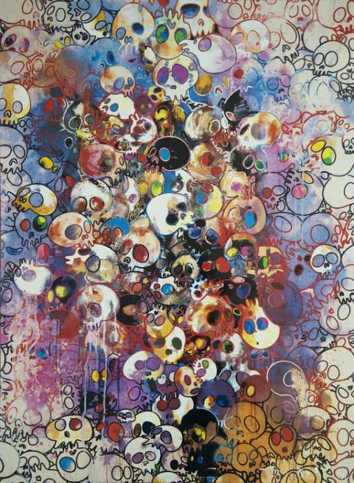 Takashi Murakami, I've Left My Love Far Behind. Their Smell, Every Memento, 2010