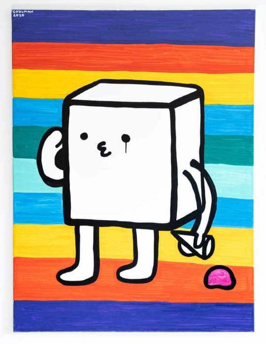 Danny Casale / Coolman Coffeedan, Small Sad Cube