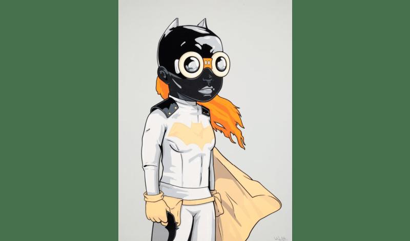 Hebru Brantley, Batgirl (KJM Variant), 2018