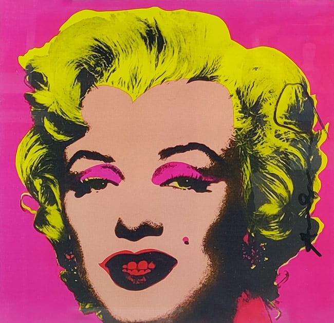 Andy Warhol, Marilyn (Announcement), 1981