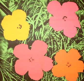 Andy Warhol, Flowers Invitation, 1964