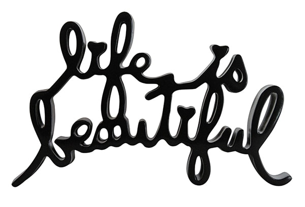 Mr. Brainwash, Life is Beautiful (Black), 2015