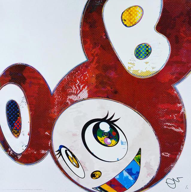Takashi Murakami, And Then...(Red), 2016