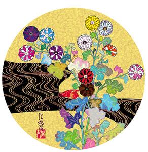 Takashi Murakami, Golden Age Korin (Voice), 2020