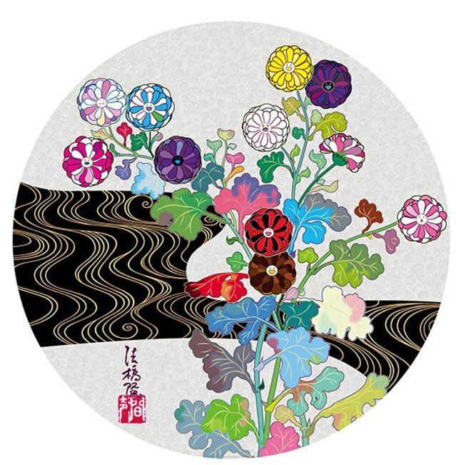 Takashi Murakami, Golden Age Korin (Quiet), 2020