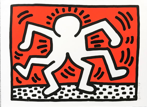 Keith Haring, DOUBLE MAN, 1986