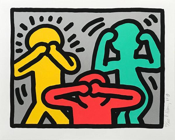 Keith Haring, POP SHOP III, 1989