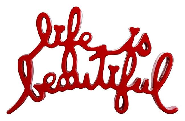 Mr. Brainwash, Life is Beautiful (Red), 2020