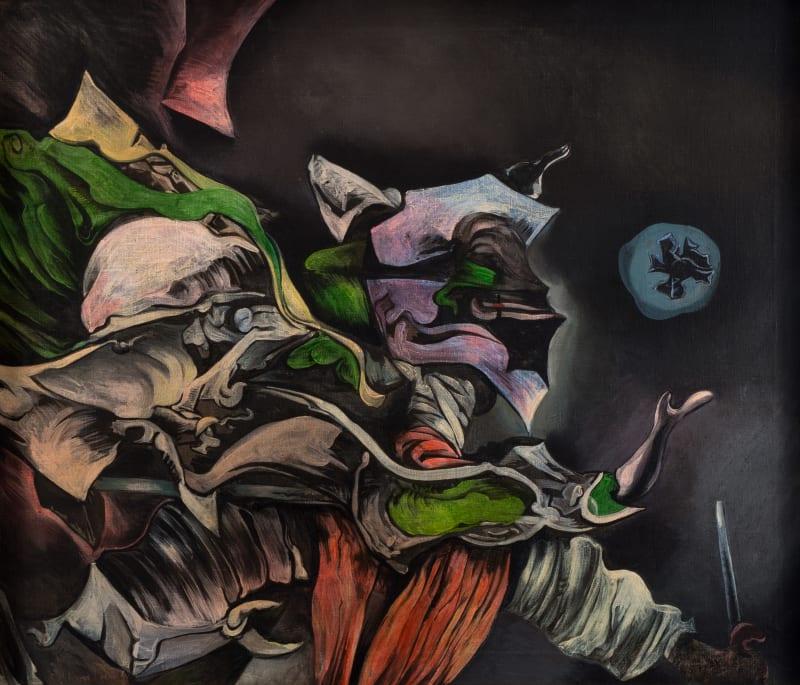 Kurt Seligmann, Devil and Fool, 1948