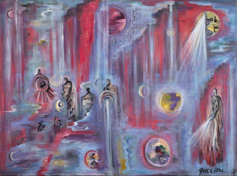 Juanita M. Guccione, Gods in exile, c. 1983