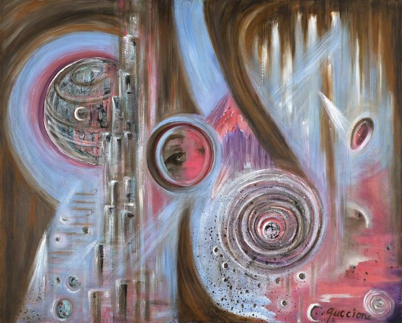 Juanita M. Guccione, Eye of the storm II, c. 1988