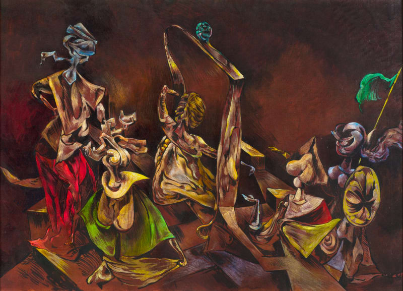 Kurt Seligmann, Sabbath Phantoms (Mythomania), c. 1945