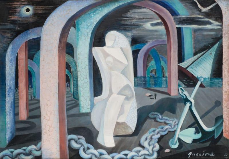 Juanita M. Guccione, Voyage's end, c. 1940