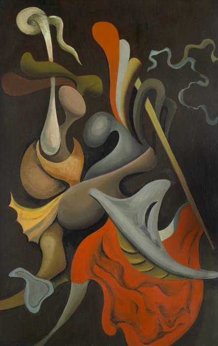 Kurt Seligmann, Le combat (de Tancrède et de Clorinde), 1934