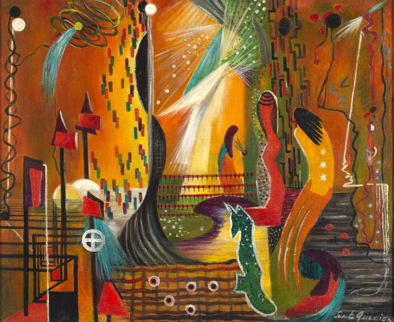 Juanita M. Guccione, Symphony in Orange, 1937