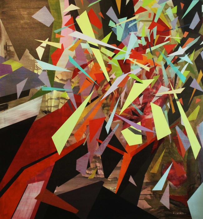 Andreas Von Gehr, color crash