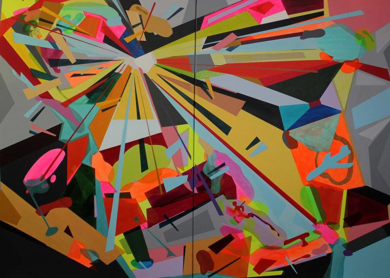 Andreas Von Gehr, color crash I