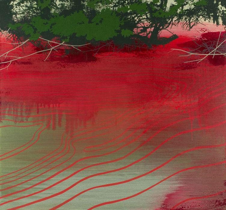Susan Danko, River's End, 2019