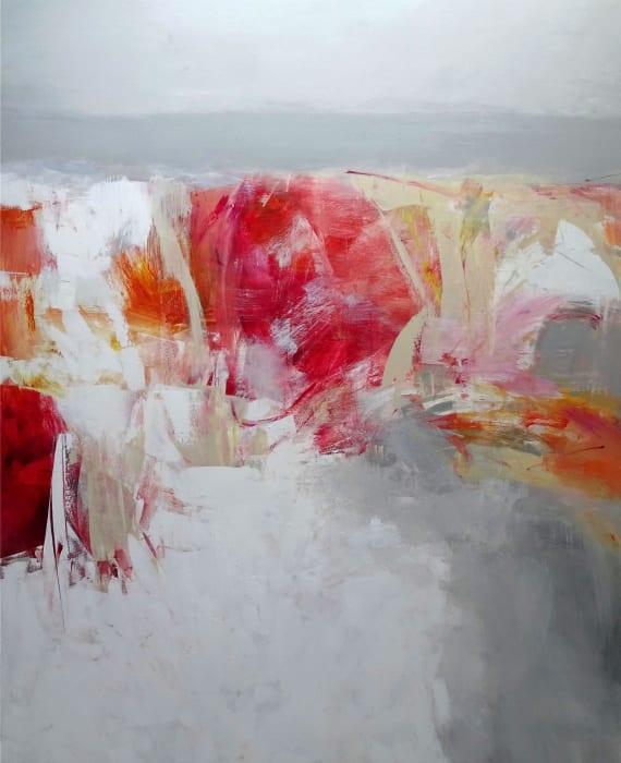 Susan Morosky, Red Rock Shore I