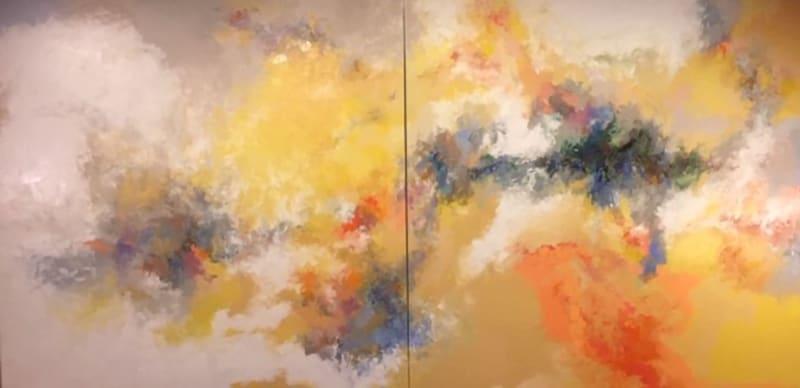 Jeff Wilhelm, Autumn Breeze (diptych), 2021