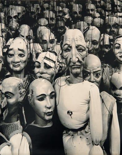 Linda Butler, Marionettes, Milan, 1995