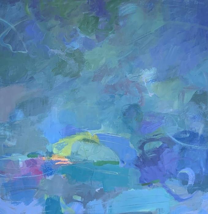 Mary Ann Sedivy, A Blue Night, 2019