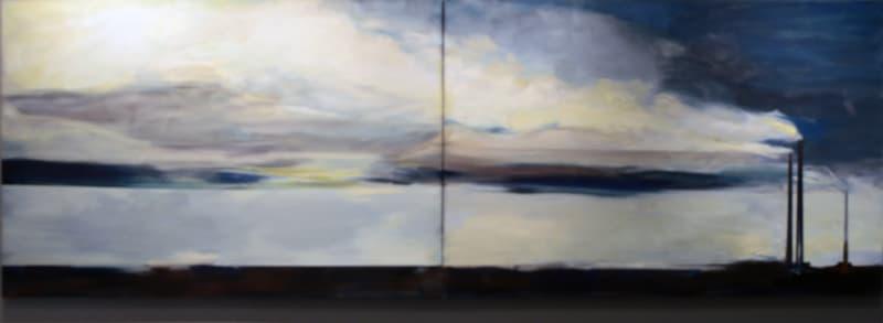 Patrick Kelly, Rains Across the Border, 1984