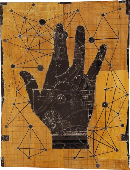 Christopher Pekoc, 39 Planets (with Large Black Hand), 1997-2014