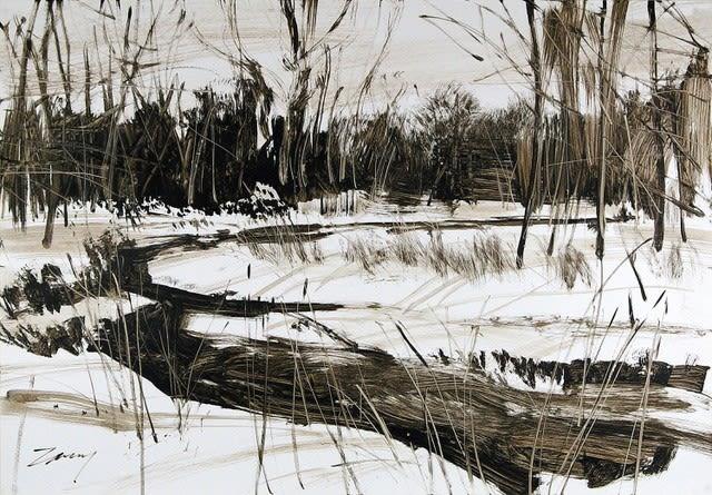 Kim Zarney, KZ0156 Creek Bend, 2010