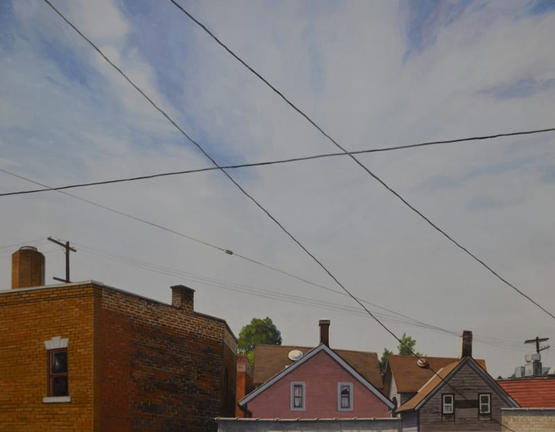 Christopher Burk, Connected - Cleveland, Ohio City I, 2016