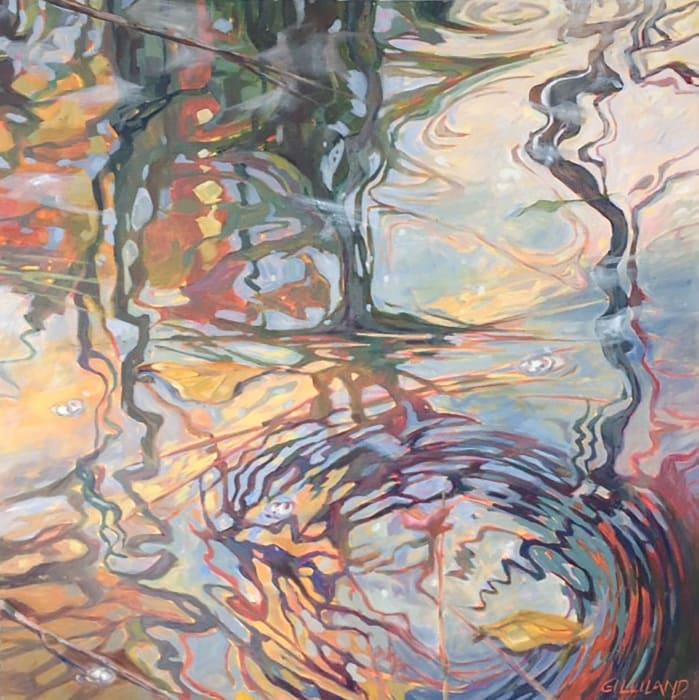 Pamela Gilliland, Water Reflection 5, 2017