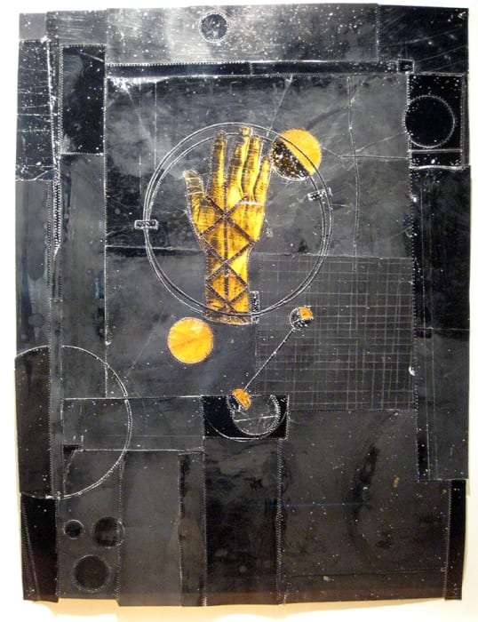 Christopher Pekoc, Study, Bound Hand with Planets, 1995