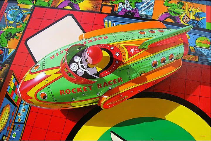 Jim Bandsuh, Rocket Racer, 2017