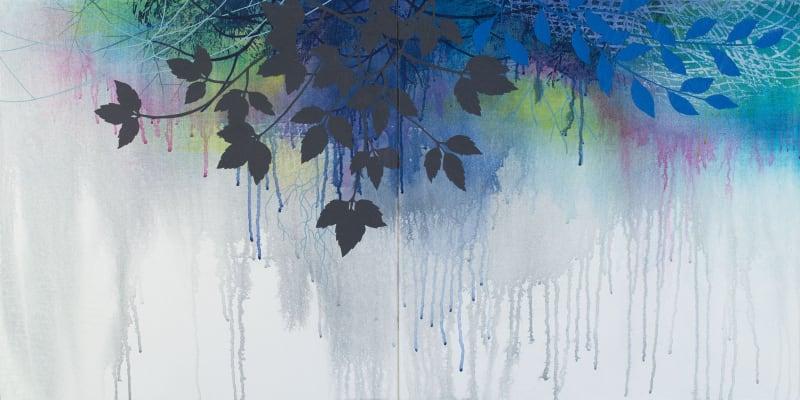Susan Danko, Tapestry I (diptych), 2021