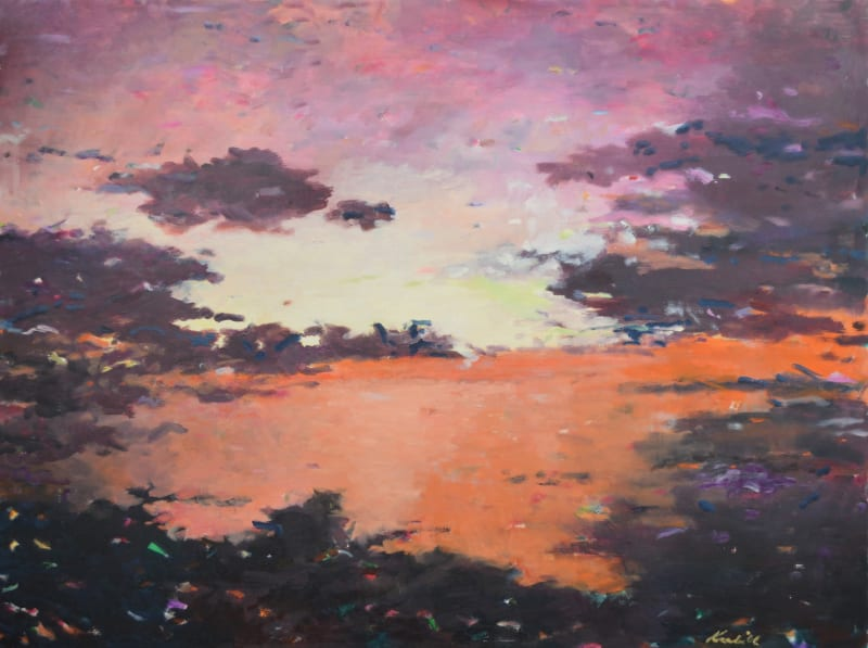 Carl Krabill, Sun Meets water, 2015