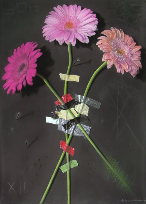 George Mauersberger, Wallflower 12 - Pink Gerbera Daisies, 2005