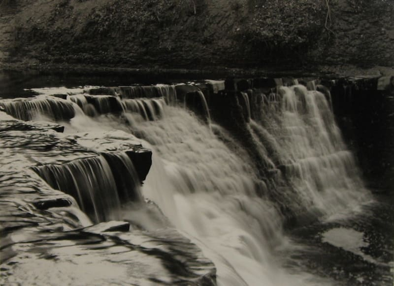 Linda Butler, Waterfall, Near South Chagrin Reservation, 2004