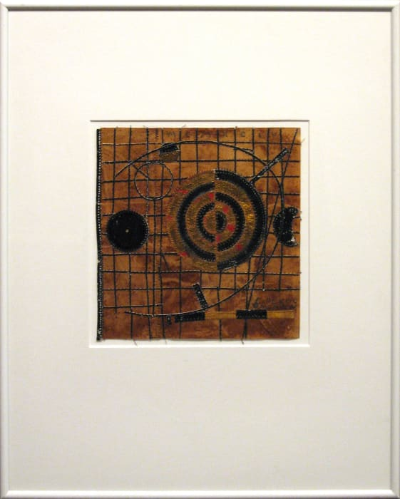 Christopher Pekoc, Chart C with 3 Planets and a Moon, 1994