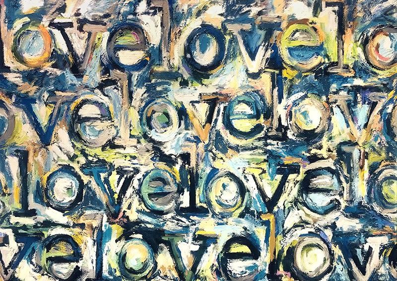 Kirsten Bowen, love love love, 2019