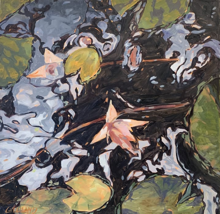 Pamela Gilliland, Evening Lilies I, 2018