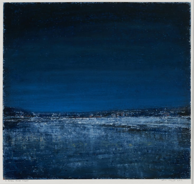 Eric Barth, A Royal Blue Night, 2019