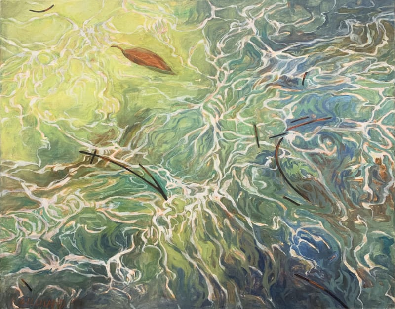 Pamela Gilliland, Water Reflection 6, 2012