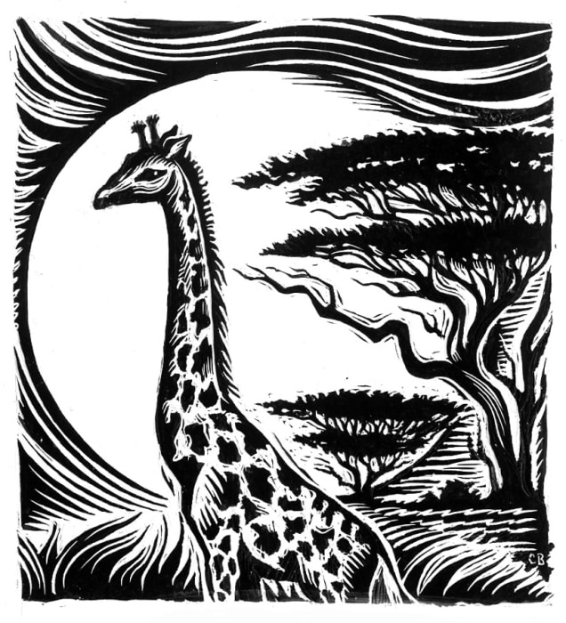 Cathie Bleck, Giraffe
