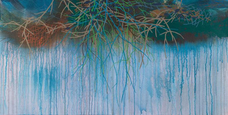 Susan Danko, Tapestry II, 2021