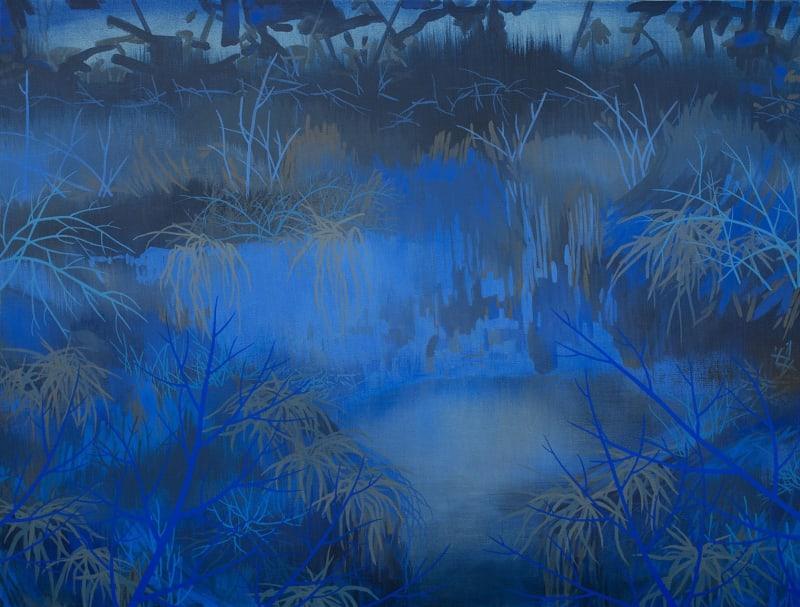 Susan Danko, Blue Thicket, 2021