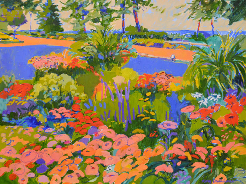 Mary Deutschman, 1046 Garden of Color, 2018