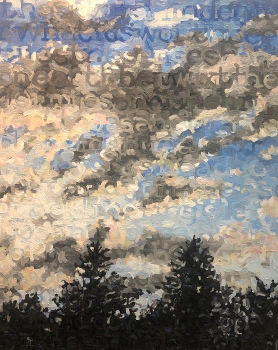 Kirsten Bowen, Sky over Linden, 2019