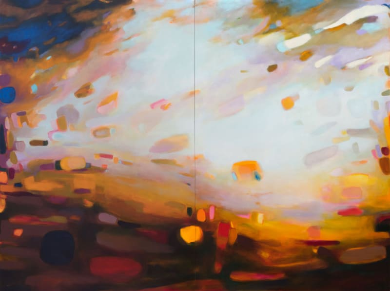 Nicole Renee Ryan, How Much Sky Was In One Breath? (diptych), 2020